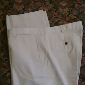 Eddie Bauer Relaxed Fit Wrinkle Resistant Khakis